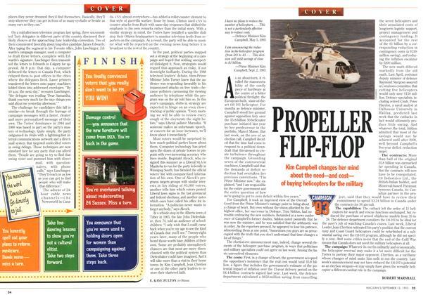 Article Preview: PROPELLER FLIP-FLOP, September 1993 | Maclean's