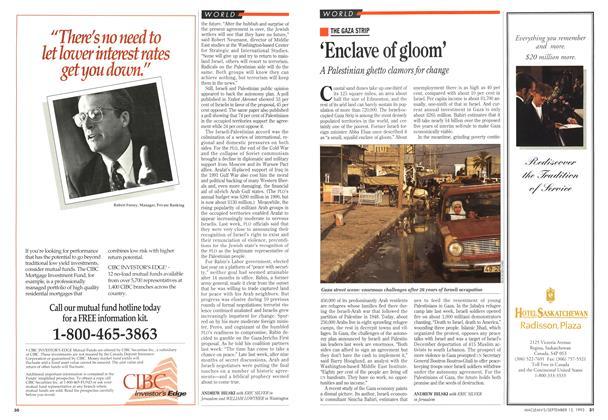 Article Preview: 'Enclave of gloom', September 1993 | Maclean's