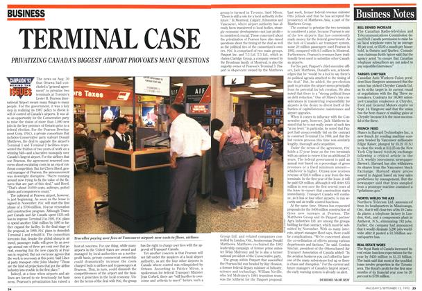 Article Preview: TERMINAL CASE, September 1993 | Maclean's