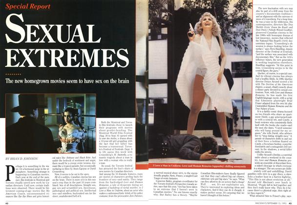Article Preview: SEXUAL EXTREMES, September 1993   Maclean's
