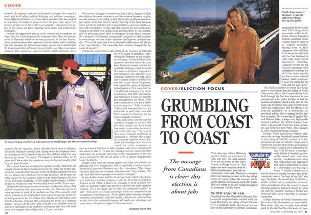 Article Preview: GRUMBLING FROM COAST TO COAST, September 1993 | Maclean's