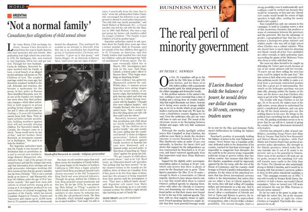 Article Preview: 'Not a normal family', September 1993 | Maclean's