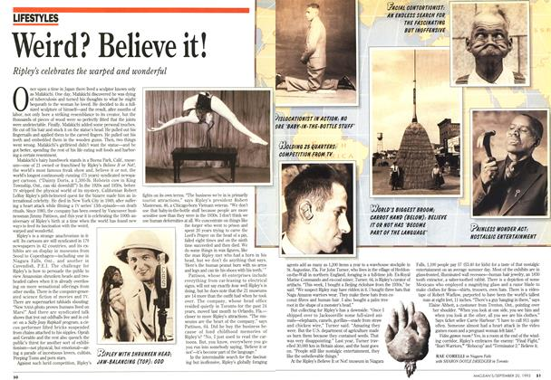 Article Preview: Weird? Believe it!, September 1993 | Maclean's