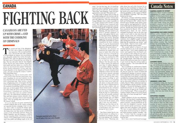 Article Preview: FIGHTING BACK, September 1993 | Maclean's
