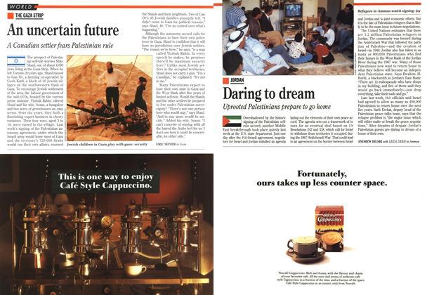 Article Preview: Daring to dream, September 1993   Maclean's