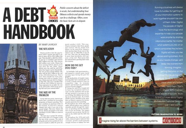 Article Preview: A DEBT HANDBOOK, September 1993 | Maclean's
