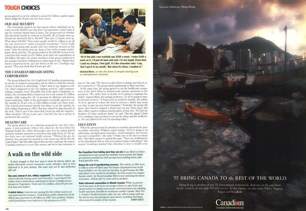 Article Preview: A walk on the wild side, September 1993 | Maclean's