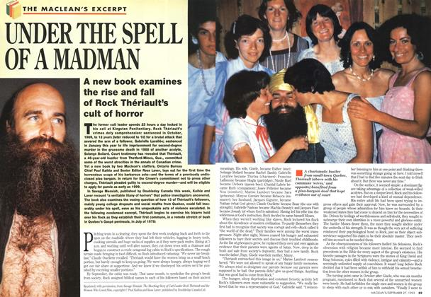 Article Preview: UNDER THE SPELL OF A MADMAN, September 1993 | Maclean's