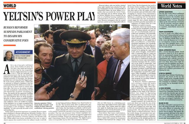Article Preview: YELTSIN'S POWER PLAY, October 1993 | Maclean's