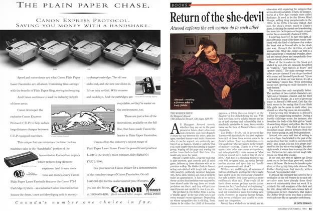 Article Preview: Return of the she-devil, October 1993 | Maclean's