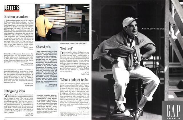 Article Preview: Broken promises, October 1993 | Maclean's