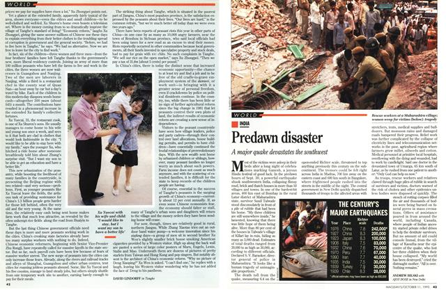 Article Preview: Predawn disaster, October 1993 | Maclean's