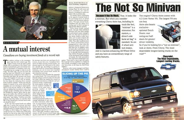Article Preview: A mutual interest, October 1993 | Maclean's