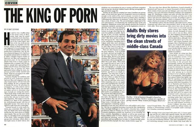 Article Preview: THE KING OF PORN, October 1993 | Maclean's