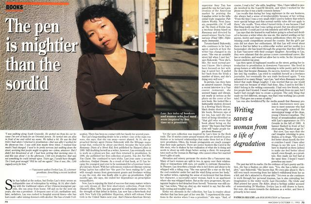 Article Preview: The pen is mightier than the sordid, October 1993 | Maclean's