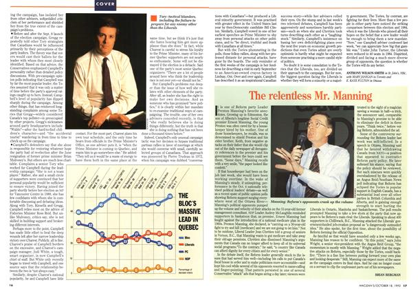 Article Preview: The relentless Mr. Manning, OCTOMBER 18, 1993 1993 | Maclean's