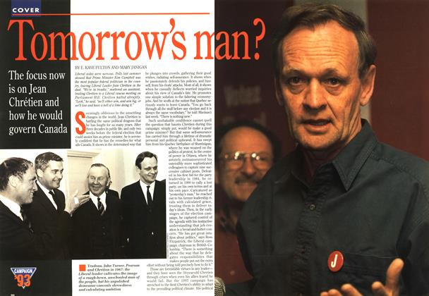 Article Preview: Tomorrow's man?, OCTOMBER 18, 1993 1993 | Maclean's