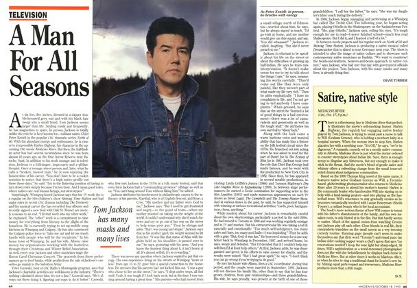 Article Preview: A Man For All Seasons, OCTOMBER 18, 1993 1993 | Maclean's