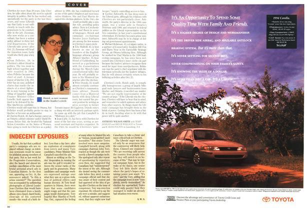 Article Preview: INDECENT EXPOSURES, October 1993 | Maclean's