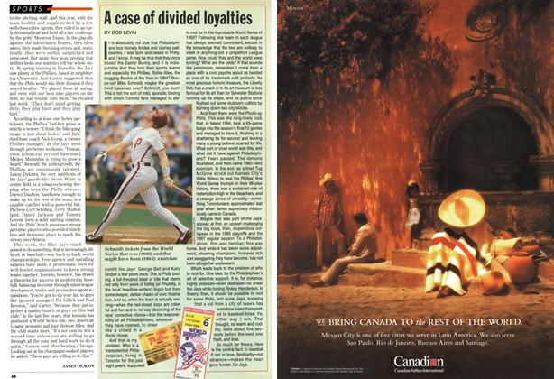 Article Preview: A case of divided loyalties, October 1993 | Maclean's