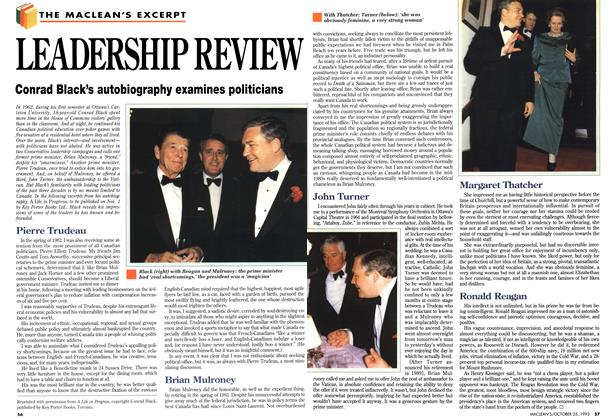Article Preview: LEADERSHIP REVIEW, October 1993 | Maclean's