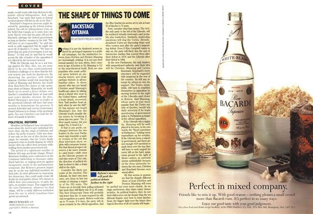 Article Preview: THE SHAPE OF THINGS TO COME, October 1993 | Maclean's