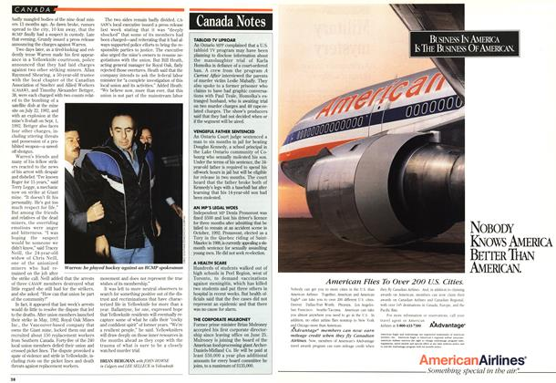 Article Preview: Canada Notes, November 1993 | Maclean's