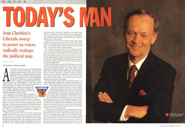 Article Preview: TODAY'S MAN, November 1993 | Maclean's