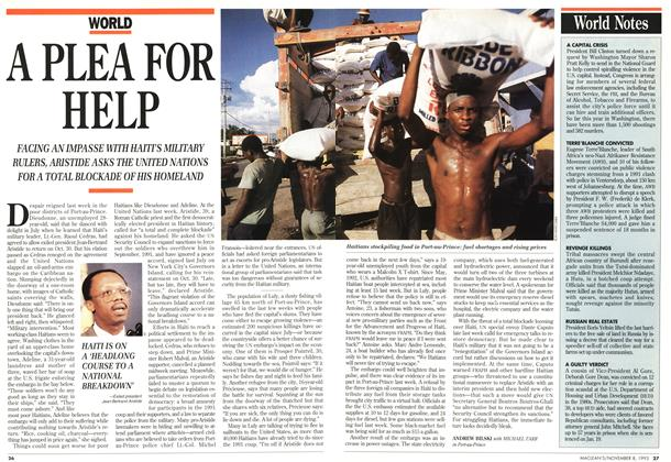 Article Preview: A PLEA FOR HELP, November 1993 | Maclean's