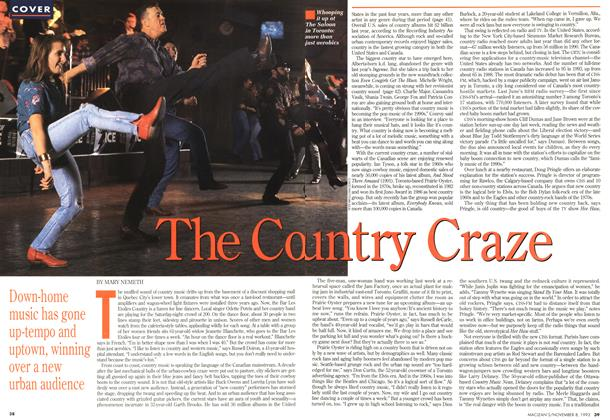 Article Preview: The Country Craze, November 1993 | Maclean's