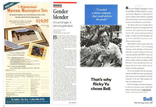 Article Preview: Gender blender, November 1993 | Maclean's