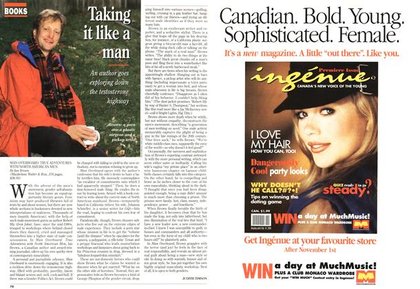 Article Preview: Taking it like a man, November 1993 | Maclean's