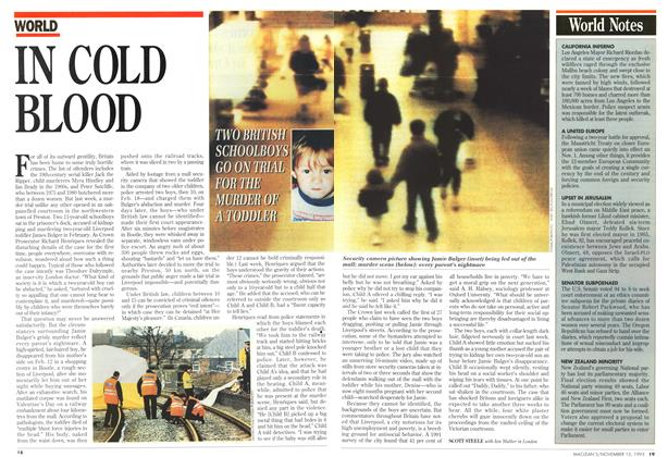Article Preview: World Notes, November 1993   Maclean's