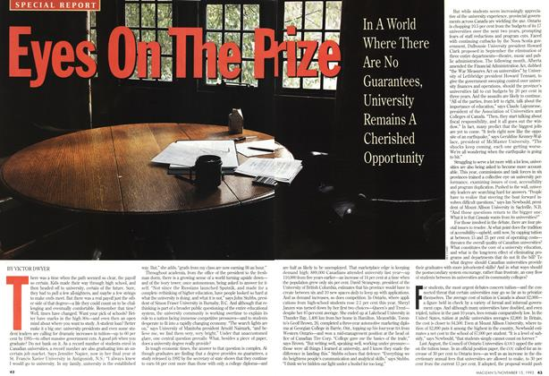 Article Preview: Eyes On The Prize, November 1993 | Maclean's