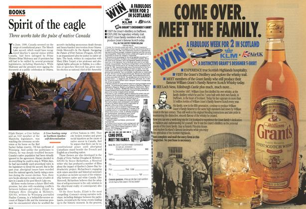 Article Preview: Spirit of the eagle, November 1993 | Maclean's