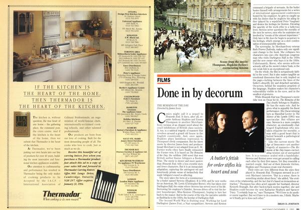 Article Preview: Done in by decorum, November 1993 | Maclean's