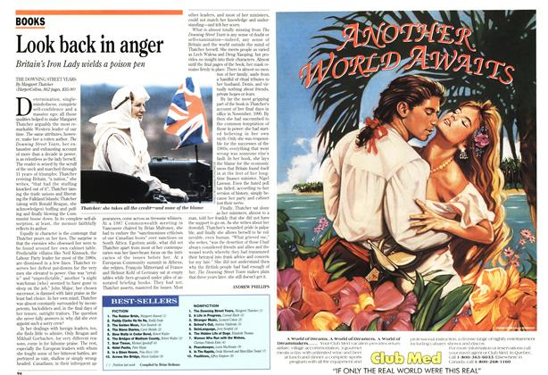 Article Preview: Look back in anger, November 1993 | Maclean's
