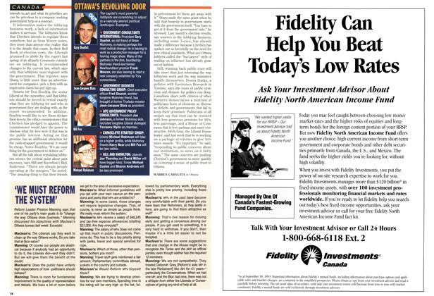 Article Preview: 'WE MUST REFORM THE SYSTEM', November 1993 | Maclean's