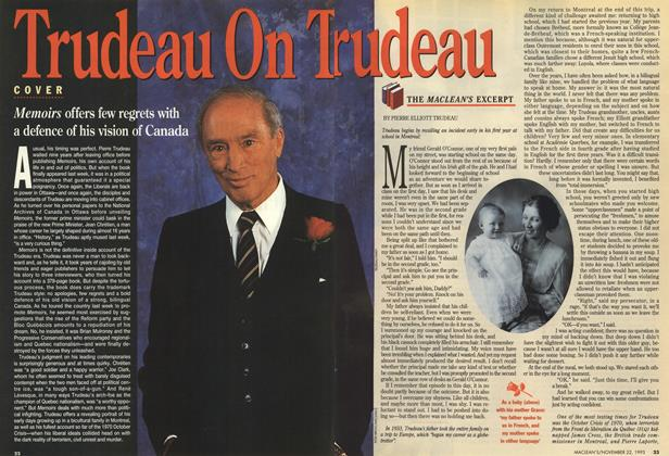Article Preview: THE MACLEAN'S EXCERPT, November 1993 | Maclean's