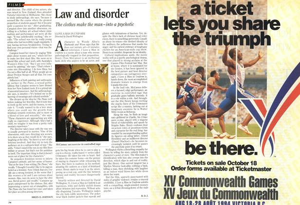 Article Preview: Law and disorder, November 1993 | Maclean's