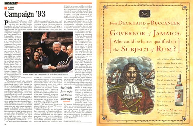 Article Preview: Campaign '93, November 1993 | Maclean's