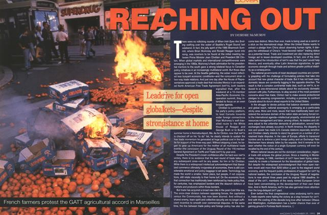 Article Preview: REA CHING OUT, November 1993 | Maclean's