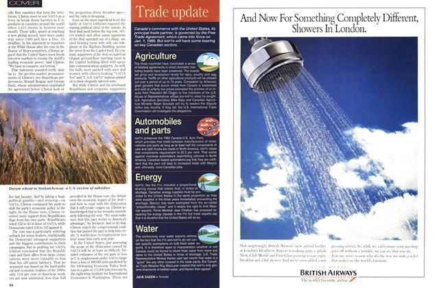 Article Preview: Trade update, November 1993 | Maclean's