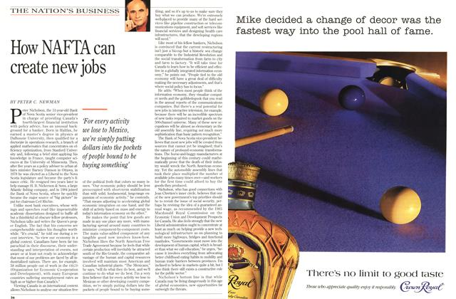 Article Preview: How NAFTA can create new jobs, November 1993 | Maclean's