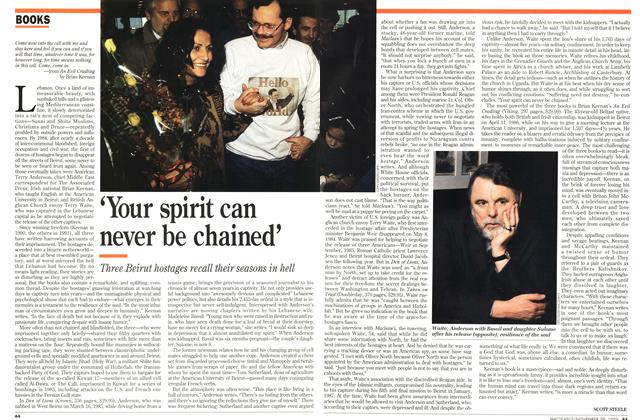 Article Preview: `Your spirit can never be chained', November 1993 | Maclean's