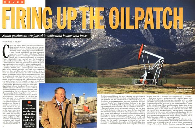Article Preview: FIRING UP THE OILPATCH, December 1993 | Maclean's