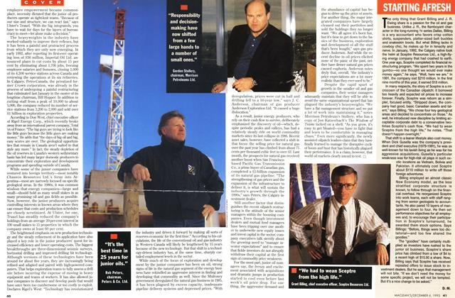 Article Preview: STARTING AFRESH, December 1993 | Maclean's
