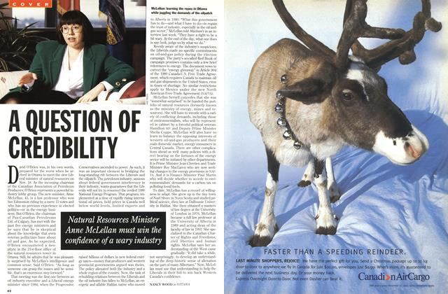 Article Preview: A QUESTION OF CREDIBILITY, December 1993 | Maclean's