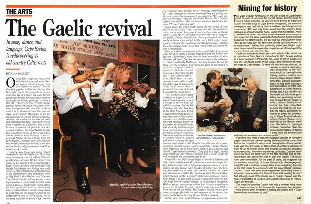 Article Preview: The Gaelic revival, December 1993 | Maclean's
