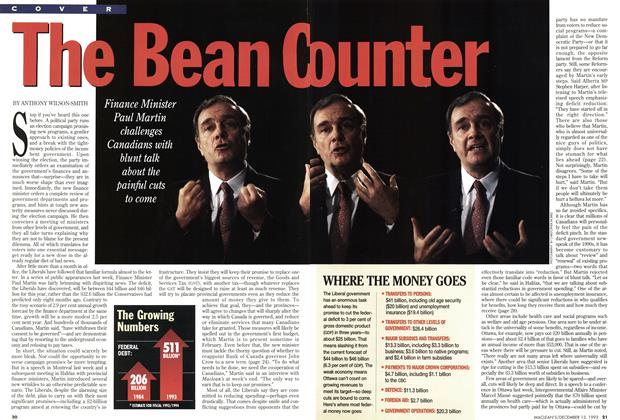 Article Preview: The Bean Counter, December 1993 | Maclean's